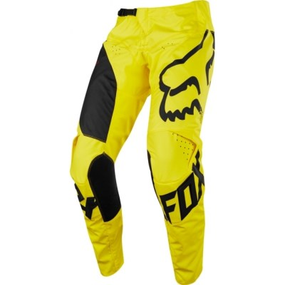 komplet FOX Racing 2018 180 Race žlutý 32 + L/XL