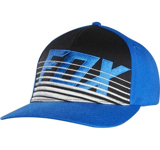 čepice Fox Racing Savant Flexfit Blue S/M