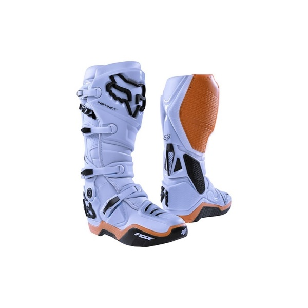 boty Fox Racing Instinct Boot Light Grey 12